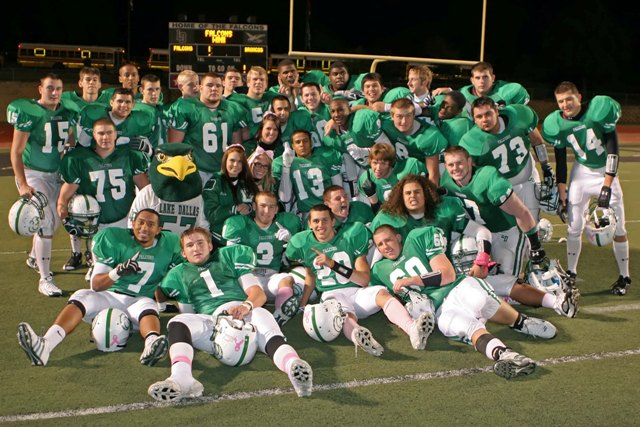 2009 Lake Dallas Falcons football team