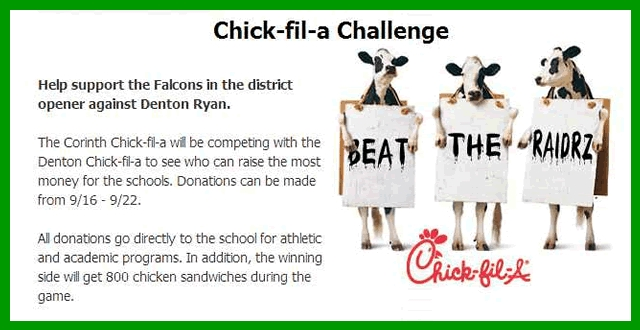 Chick-fil-a Challenge