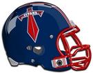 Frisco Centennial Titans helmet