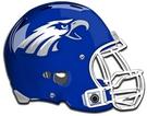 Carter-Riverside Eagles helmet