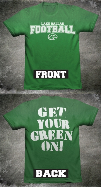 Get Your Green On mockup shirt