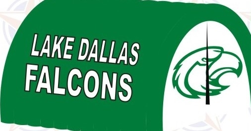 Lake Dallas Falcons tunnel