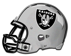 Randall Canyon Raiders helmet