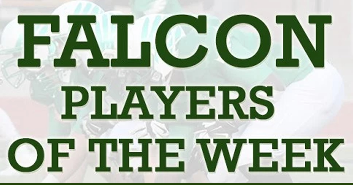 Falcon Players of the Week