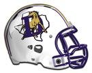 Denton Broncos helmet
