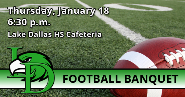 Football Banquet and Awards Ceremony: January 18, 2018