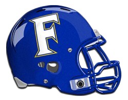 Frisco High Raccoons helmet