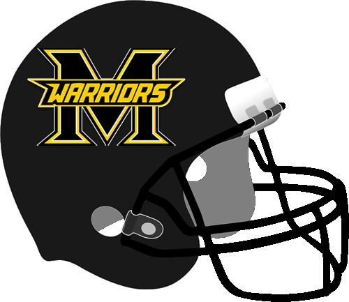 Frisco Memorial Warriors helmet