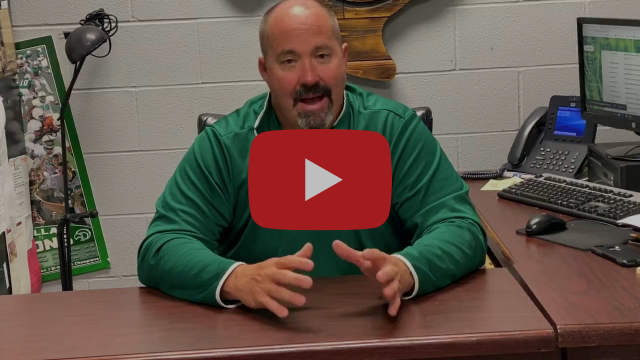Coach Young video message